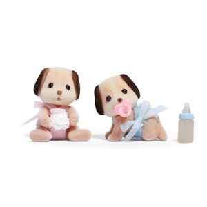 Calico Critters: Beagle Dog Twins|skygarden