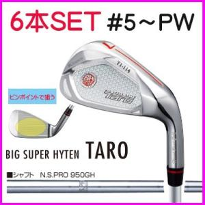 キャスコ タローアイアンセット TARO 6本セット NS950スチールシャフト 5~PW|skygolf