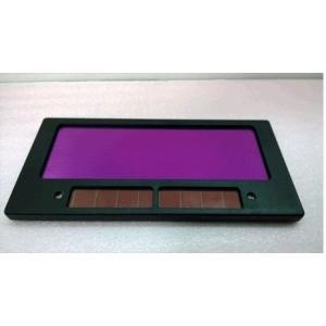 液晶式 自動遮光 交換レンズ 溶接マスク 太陽電池 ソーラー電源 汎用 溶接面用 遮光レンズ 溶接面をグレードアップ|skyhy