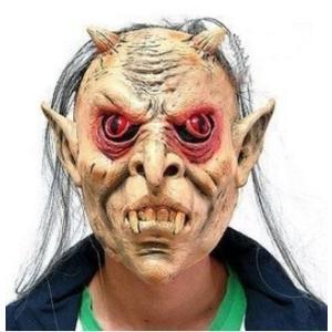 恐怖ホラーマスク ハロウィン お化け コスプレ 装飾 衣装 仮面 小物 きもだめし お化け屋敷 コスチューム用小物 パーティ用品 お面|skyhy