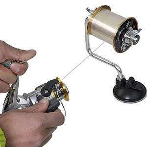 釣り糸 ライン 巻き取り器 ラインアーム 釣り 糸巻き リール ライン 魚 フィッシング 仕掛け 吸盤式 アーム 吸盤ロック式 簡易 ラインワインダー  skyhy