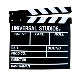 カチンコ 映画撮影用 ハリウッド 黒板式 英語 クリッパーボード 映画小物 撮影小物 ムービー |skyhy