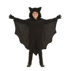 (ミミ コスチューム) Mimi Costume コウモリキッズ ハロウィン コスプレ コスチューム 悪魔 吸血鬼 ドラキュラ 仮装  (140-155) 子供 衣装 劇 お遊戯|skyhy