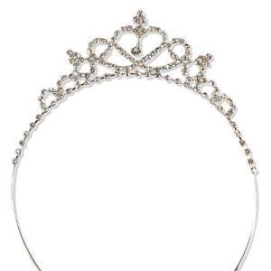 ティアラ カチューシャ キッズ 子供衣装 ハート&クロスに輝く髪飾り 結婚式 舞台 ドレス かわいい|skyhy