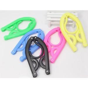 携帯 ハンガー セット (便利な携帯ハンガー 5個, ハンガーストップロープ 1本)|skyhy