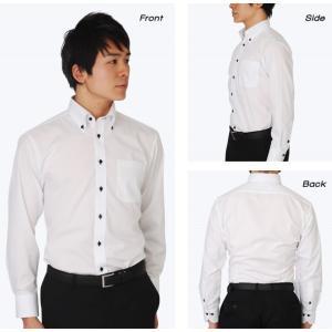 5枚セット SELSCOT 形態安定 メンズ ワイシャツ カラー ボタンダウン 長袖|skyjack|03