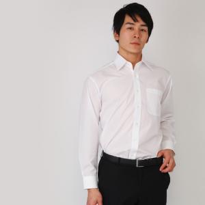 ワイシャツ メンズ 長袖 白 Yシャツ 5枚 セット SELSCOT 形態安定 レギュラー衿 白 無地|skyjack|08