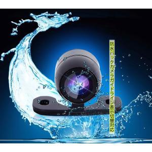 防水超ミニフロントカメラリヤカメラ  視野角度120度 正像・鏡像切替機能 ガイドライン有・無し機能 カラーカメラ bk300|skynet