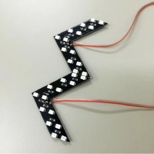 ドアミラーウインカー単品 LEDライト カーアクセサリー スタイリッシュで安全性も抜群 愛車のドレスアップに MSD14|skynet