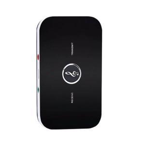 Blutooth 発信受信両用 USB充電式 オーディオトランスミッター 薄型設計  3.5mmオーディオ対応 音声出力信号を無線変換 BTADP21|skynet