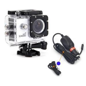 SJCAM正規品 防水充電ケース シガーソケット SJ4000/SJ4000WiFi/SJ4000Plus対応 バイク ボート SJPTS4K|skynet