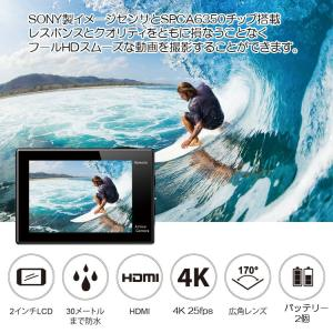 EKEN アクションカメラ リモコン付き 4K...の詳細画像3