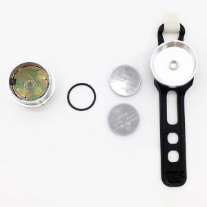 自転車用ミニLEDテールランプ 高輝度赤色発光 点滅可 小型 防水 ゴムバンド式 取付簡単 ボタン電池 セーフティーライト 目立つ 夜間走行 自転車安全 CTLED02|skynet|08