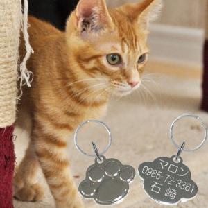 名入れ 刻印 オリジナル 迷子札 まいごふだ 愛猫にお勧めな極小タイプの真鍮製迷子札  ◎とても小さ...