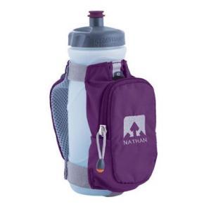 【ネイサン / NATHAN】 トレイルランニング Quickdraw Plus with Square Pocket (imperial purple) 【Handhelds】|skytrail