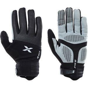 【2XU/ツータイムズユー】 Sub Zero Gloves Unisex / サブ ゼロ グローブ (ブラック)|skytrail