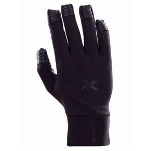 【2XU/ツータイムズユー】 Running Gloves Unisex / ランニング グローブ (ブラック)|skytrail