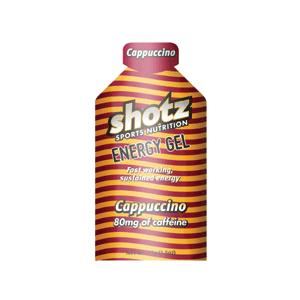 【メール便のみ】Shotz Energy Gel Cappuccino ショッツ エナジージェル(カーボショッツ) カプチーノ 旧ワイルドビーン|skytrail