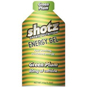 【メール便のみ】Shotz Energy Gel Green Plum ショッツ エナジージェル(カーボショッツ) グリーンプラム(カフェイン80mg入り)|skytrail