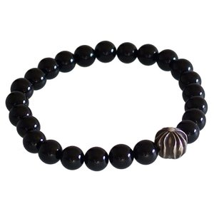 CHROME HEARTS 8MM BLACK TOURMA...