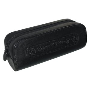 CHROME HEARTS LEATHER POUCH   ...