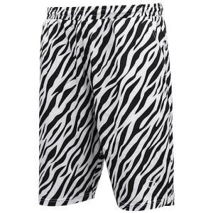 AKTR Zebra Shorts(アクター ゼブラ ショーツ/バスパン) 白/黒