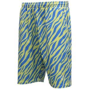 AKTR Zebra Shorts(アクター ゼブラ ショーツ/バスパン) 黄/青