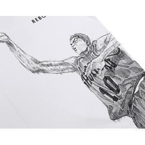 INOUE TAKEHIKO(井上雄彦) 公式グッズ SLAMDUNK(スラムダンク) 花道Rebound Tee Tシャツ 白|slamjapan|03