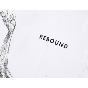 INOUE TAKEHIKO(井上雄彦) 公式グッズ SLAMDUNK(スラムダンク) 花道Rebound Tee Tシャツ 白|slamjapan|05
