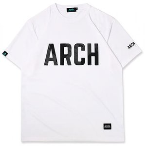 Arch Sport Lettered Tee(アーチ スポーツ レタード Tシャツ) 白