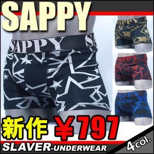 ボクサーパンツ メンズ おしゃれ SAPPY サピー スター...