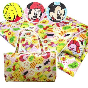 Disneyお昼寝7点セット ディズニー ミッキーマウス・ミニーマウス・プーさん 選べる3柄 七点組布団 保育園や幼稚園におひるねふとんセット