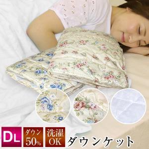 アルファ ダックダウン50% 洗える ダウンケット DN190-4  ダブル サイズ 190×210cmの写真