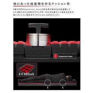 西川 エアー AiR SI  ベッドマットレス 厚み14cm  レギュラー 200N シングル  プレミアムモデル 送料無料(北海道沖縄離島除く)|sleepmaster|05