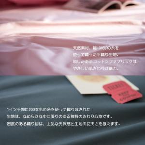 Fab the Home ソリッド 枕カバー ピローケース 43×63 合わせ式(綿100% ブロード地 単色無地 12カラー) sleepmaster 04