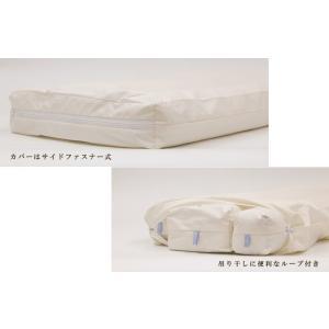 枕 日本製 イワタ キャメル枕 高さ2.5センチ キャメルピロー 低め 国産 ムレにくい 寝返り 首 頭 頸椎 洗える 枕 キャメル|sleepmaster|06