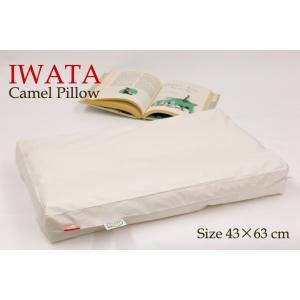 枕 日本製 イワタ キャメル枕 高さ2.5センチ キャメルピロー 低め 国産 ムレにくい 寝返り 首 頭 頸椎 洗える 枕 キャメル|sleepmaster|07