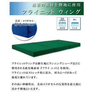 マニフレックス フライニットウィング シングル マットレス三つ折り 高反発|sleepmaster|02