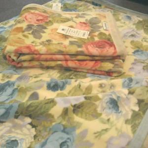 毛布 綿毛布 サンダーソン ブランケット  SD905 シングル 東京西川 SALE