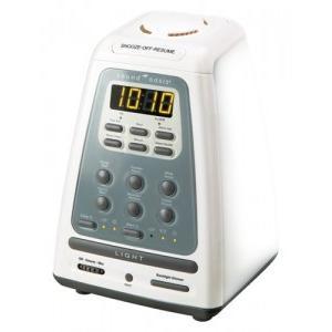目覚まし時計 光目覚まし時計 おすすめ 目覚まし時計 起きれる 光サウンド・オアシス ウェイクライト 入眠時安眠機能付き光目覚まし時計 BLS-100|sleeptracker