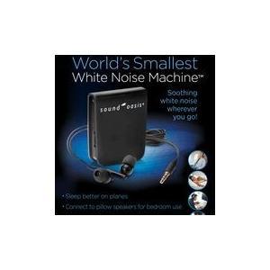世界最小!サウンドオアシス ホワイトノイズマシン|sleeptracker
