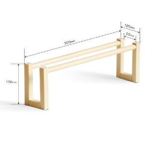 木製スリッパラック 1段の詳細画像5