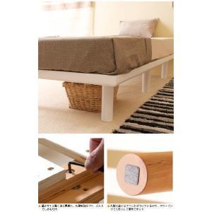 木製ベッド「ハイローベッド スマート(D)ダブル」|sleepy|05