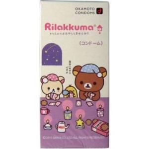 【オカモト リラックマコンドーム 10個入】|sliiim