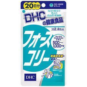 ★メール便送料無料★【DHC フォースコリー 80粒 20日分】CM・コンビニで有名なDHCから発売されたダイエットサプリメント!|sliiim