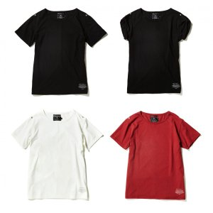 【VIRGOwearworks×GARNI】17 Epaulet Tee 3カラー|slow-clothing