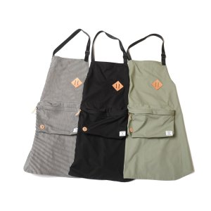 VIRGOwearworks x NOMAD Big pkt apron 3カラー|slow-clothing