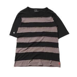 VIRGO Hurricane borders ブラック・チャコール|slow-clothing