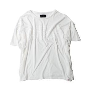 VIRGO CELLULAR ONE BIG-T{MOMONGA} ホワイト|slow-clothing