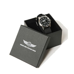 【SALE 50%OFF ¥19,224→ ¥9,612】VIRGO Virgers force spectacle watch ブラック|slow-clothing